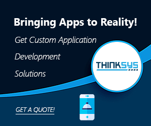 App development ad thinksys