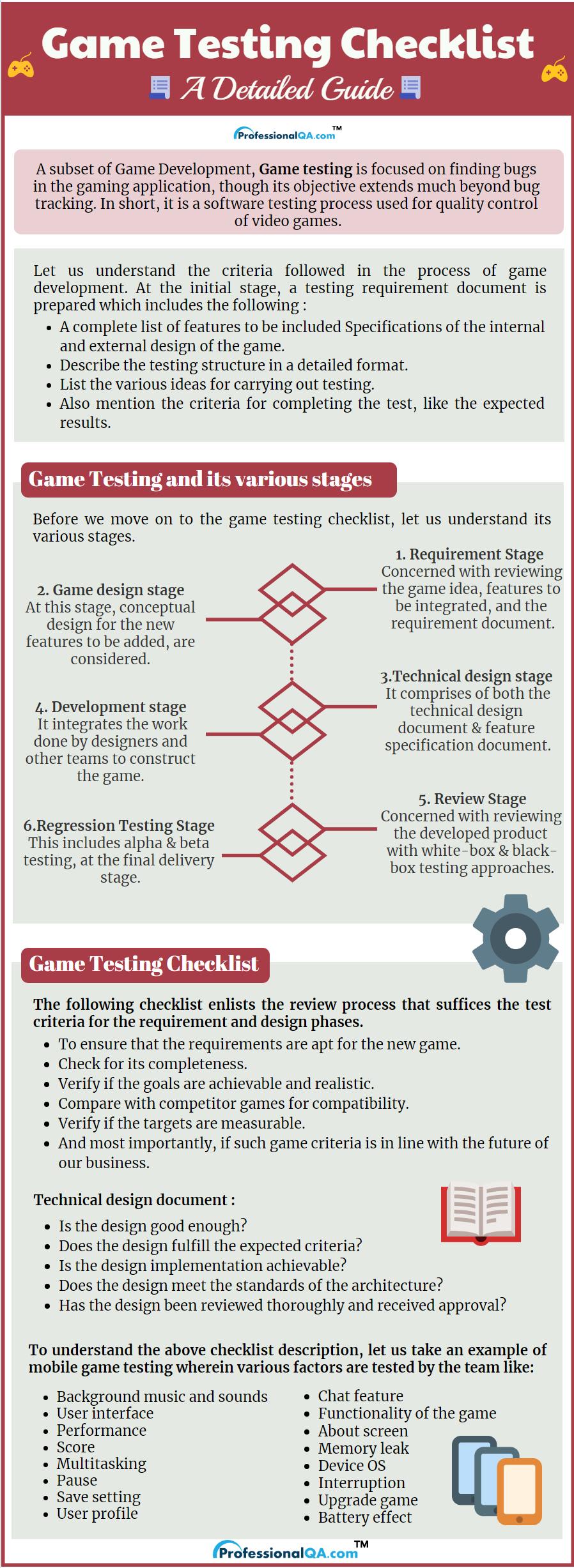 Game Testing Checklist Professionalqa Com,Elements And Principles Of Design Matrix Worksheet
