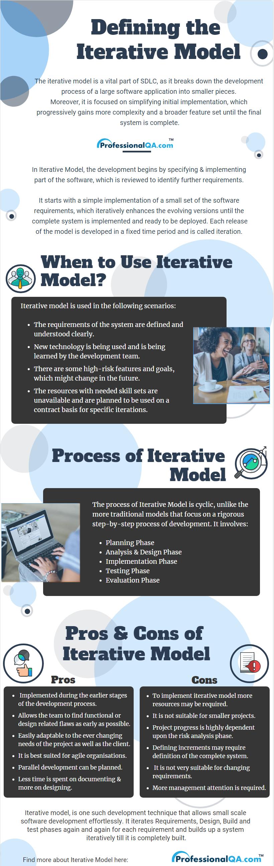 Iterative Model: Advantages and Disadvantages |Professionalqa com