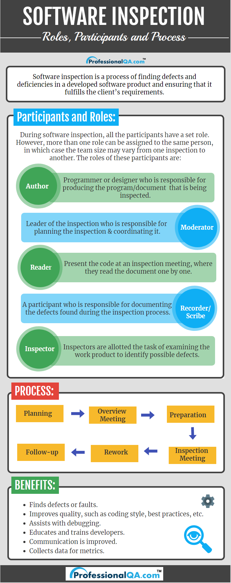 software inspection infographics