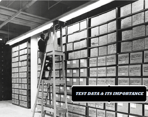 test data & its importance